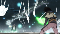 Mars about to attack Yuno