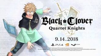 Black Clover Quartet Knights - Luck Character Trailer PS4, PC