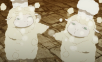 Cotton Cooking Sheep