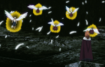 Mereoleona challenges five elves