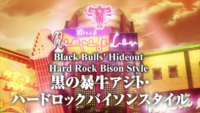 Hard Rock Bison Style