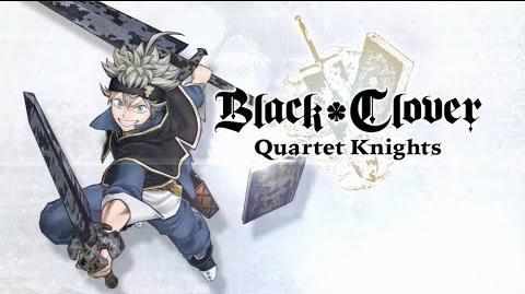 Black Clover Quartet Knights - Asta Character Trailer PS4, PC