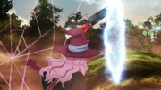 Finral redirects Asta into a net