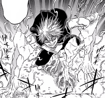 Yami Black Clover Manga Panels Wallfree