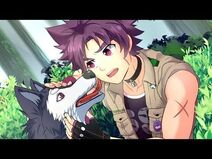 Kiba and his companion