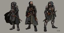 Black Company Characters by TheLivingShadow