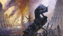 Siege of Overlook by Didier Graffet