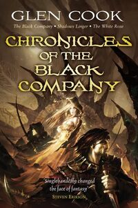 The Black Company 2008 Gollancz front