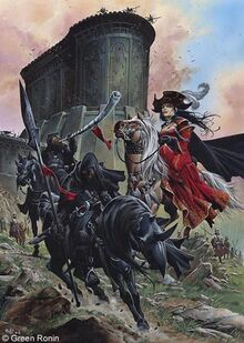 The Black Company Campaign Setting Cover Art by Wayne Reynolds