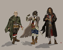 Black Company Wizards by TowJumpR