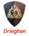 Drieghan symbol transparent name1
