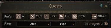 Quest preferences