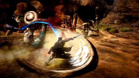 검은사막 닌자 캐릭터 전투 영상