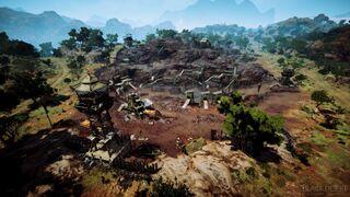 Abandoned Iron Mine Rhutum District