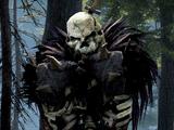 Green Orc Skeleton Warrior