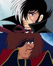 BlackJack+CaptainHarlock