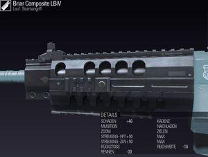 BLR DE Briar Composite LBiV