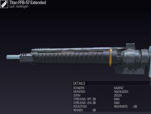 BLR DE Titan FFB-57 Extended