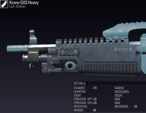 BLR Krane GX3 Heavy DE