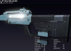 BLR Briar Elite A4-BS
