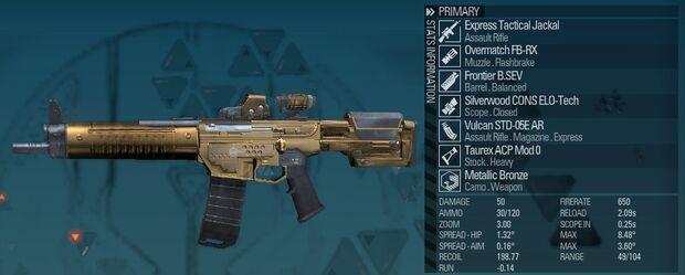 BLR Express Tactical Jackal 01