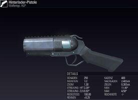 BLR Hinterlader-Pistole
