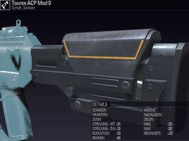 BLR DE Taurex ACP Mod 0