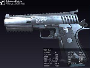 BLR Schwere Pistole