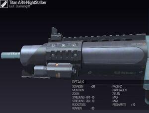 BLR DE Titan AR4-NightStalker