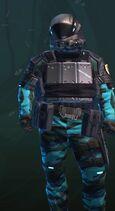 Rocked Scuff Blue-Armor