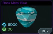 Rock Metal Blue-Menu