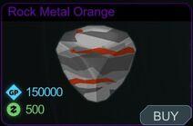 Rock Metal Orange-Menu