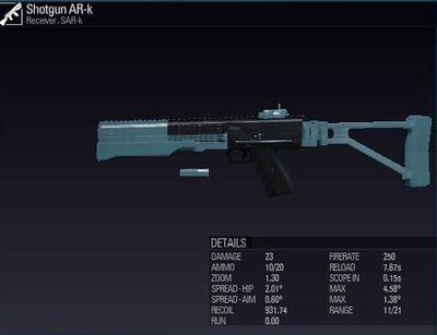 Shotgun AR-K 2