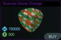 Scarred Stone Orange-Menu
