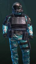 Rock Metal Blue-Armor
