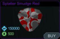 Splatter Smudge Red-Menu