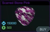 Scarred Stone Pink-Menu