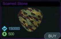 Scarred Stone-Menu