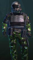 Quiet Sand Green-Armor