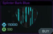 Splinter Bark Blue-Menu