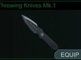 Throwing Knives Mk.1