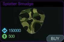 Splatter Smudge-Menu
