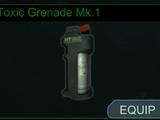 Toxic Grenade Mk.1
