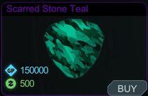 Scarred Stone Teal-Menu