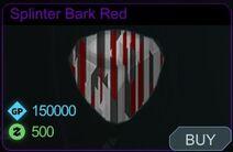 Splinter Bark Red-Menu