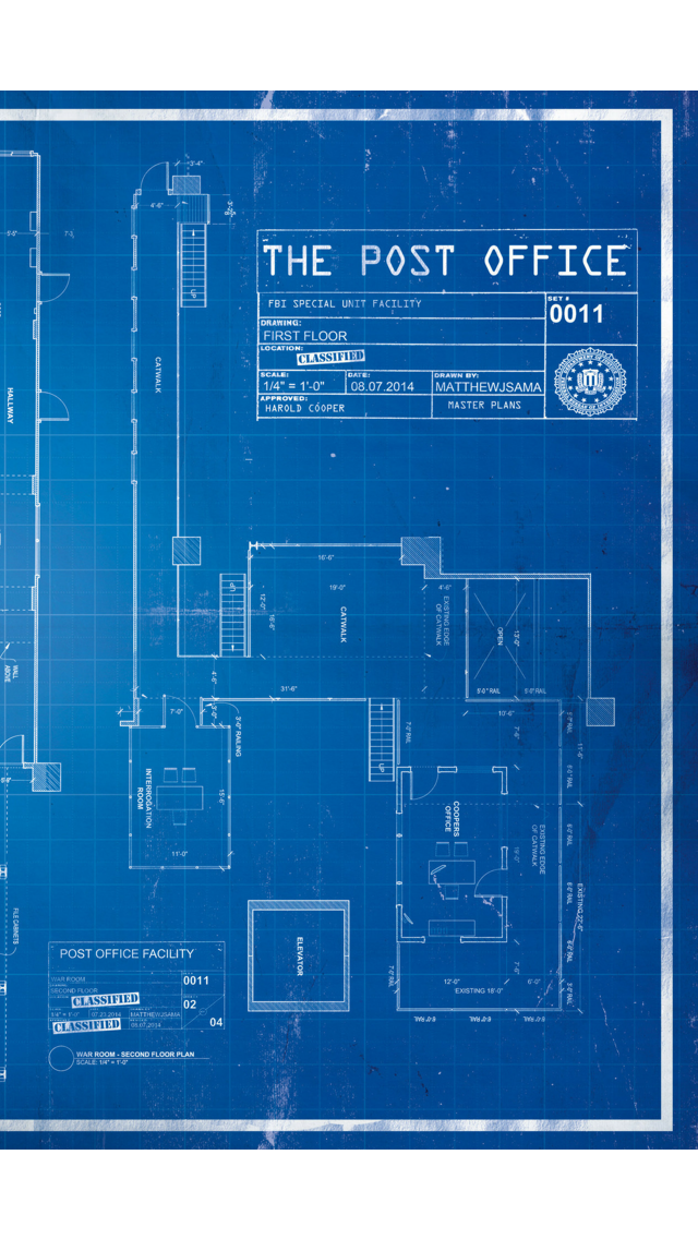 Image post office blueprint 2g the blacklist wiki fandom post office blueprint 2g malvernweather Image collections