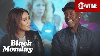 Actor Notes w Don Cheadle & Regina Hall Black Monday Season 1
