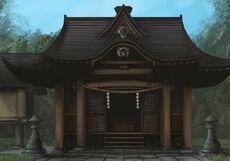 Hakurei shrine by daybreaks0-d4cr7ip