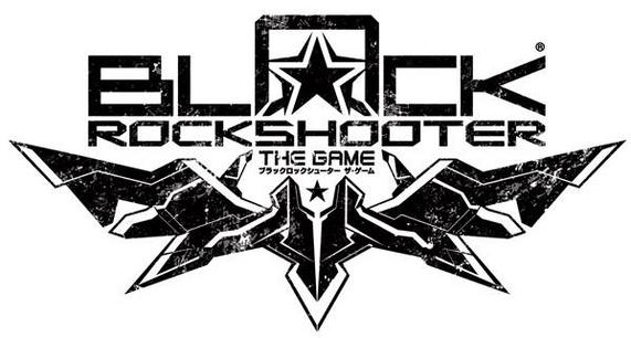 Black Rock Shooter THE GAME Logo