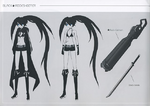 Black Rock shooter Concept Art